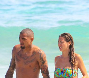 Satta-Boateng innamorati a Ibiza: foto