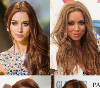 Una Healy hair: Perfect Saturday night hair