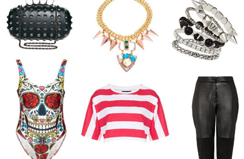 Punk fashion: Studs and spikes