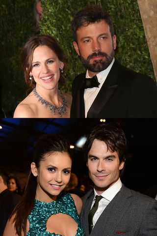Celebrity couples who found love on set