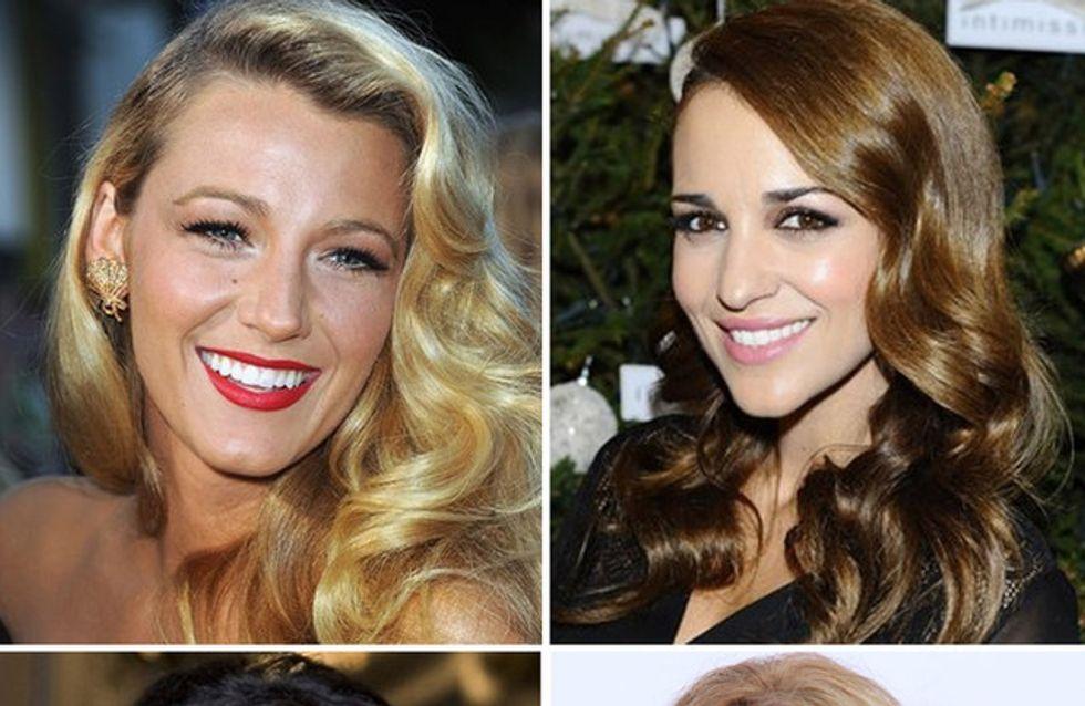 ¿Onda, rizo o tirabuzón? Celebrities con pelo rizado
