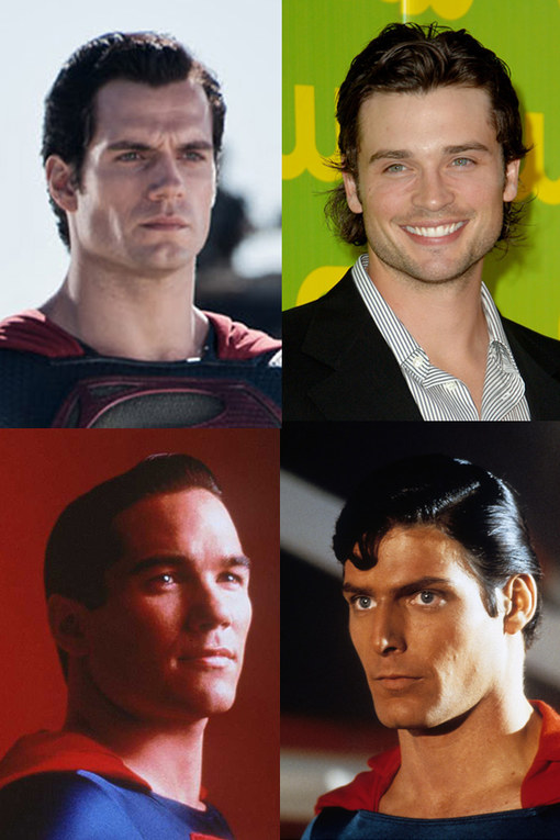 Superman actors through the years