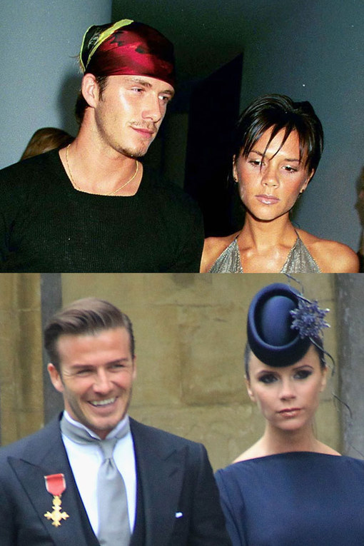 David and Victoria Beckham's wedding anniversary