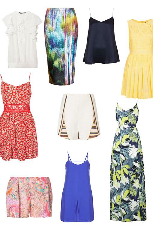 Holiday wardrobe: Fashion in the sun
