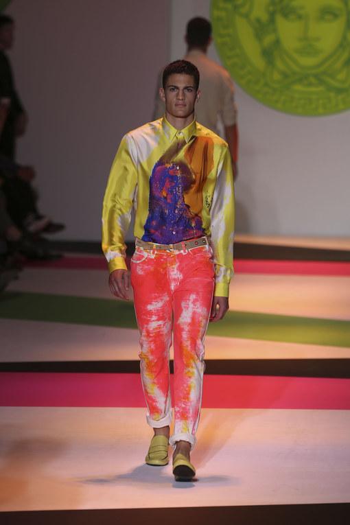 Versace - Milán Fashion Week Primavera Verano 2014