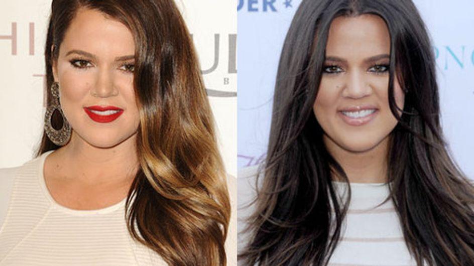Khloe Kardashian hair: Long sleek locks