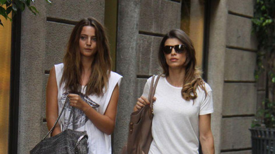 La Canalis si dà allo shopping: foto