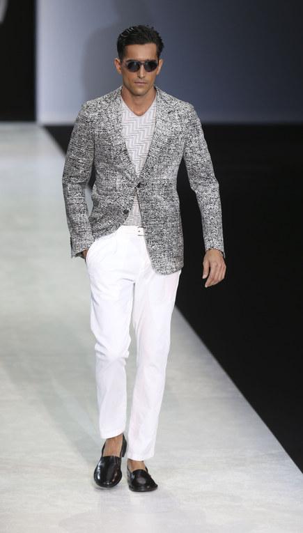Giorgio Armani - Milán Fashion Week Primavera Verano 2014