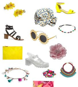 Holiday accessories: Beach-side fashion