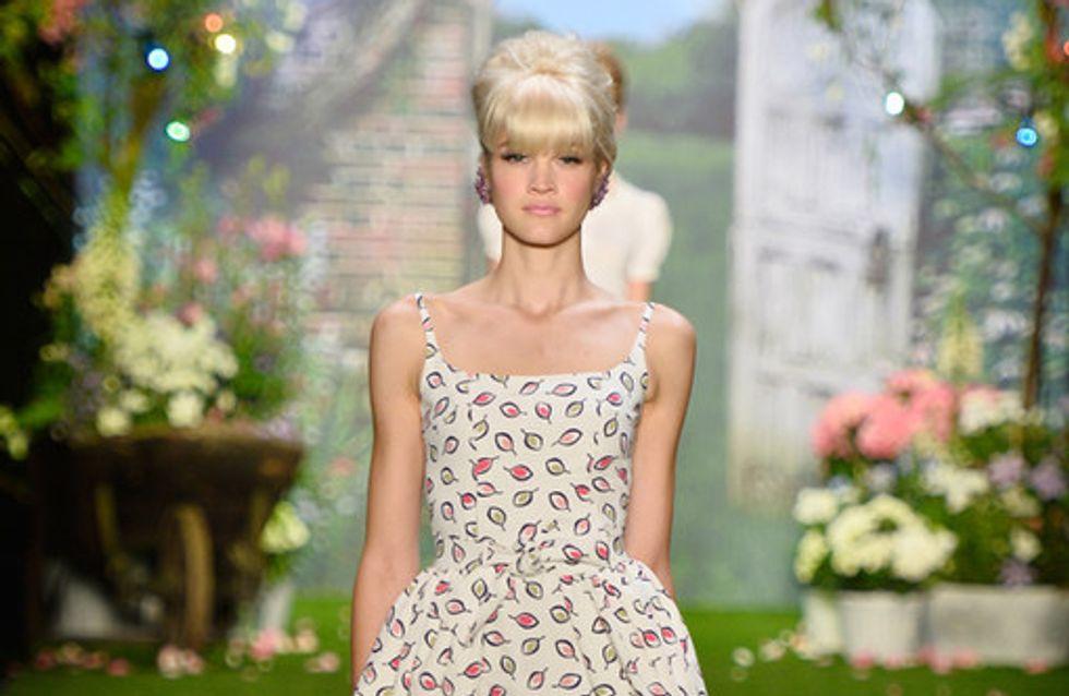 Gute Laune Mode! Lena Hoschek lädt zum Picknick im Grünen