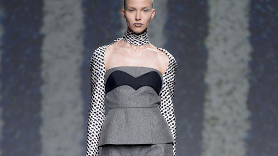 Superposiciones, rayas y un iinvierno a todo color con Dior en el desfile París
