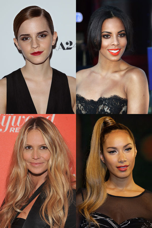 Hairstyles for oval faces: Celebrity tresses
