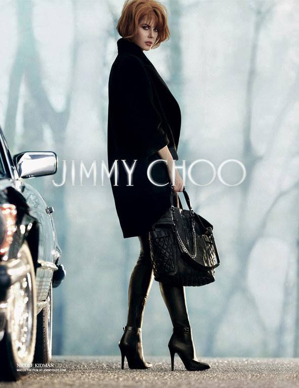 Nicole Kidman testimonial per Jimmy Choo