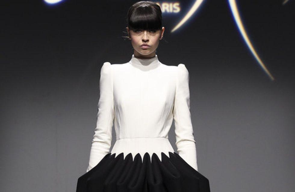 Siluetas con curvas en blanco y negro, la gran apuesta de Clarisse Hieraix