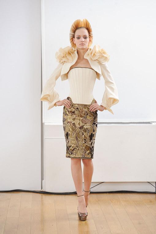 Défilé Julien Fournié Haute Couture Automne-Hiver Paris 2013-2014