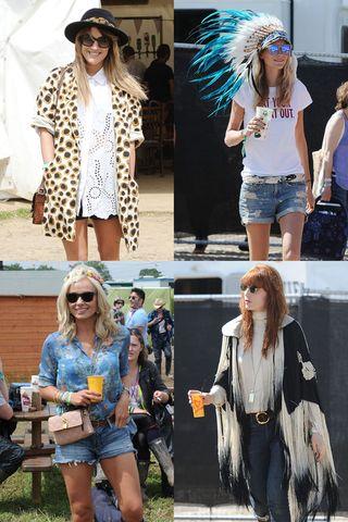 Los mejores looks del festival de Glastonbury