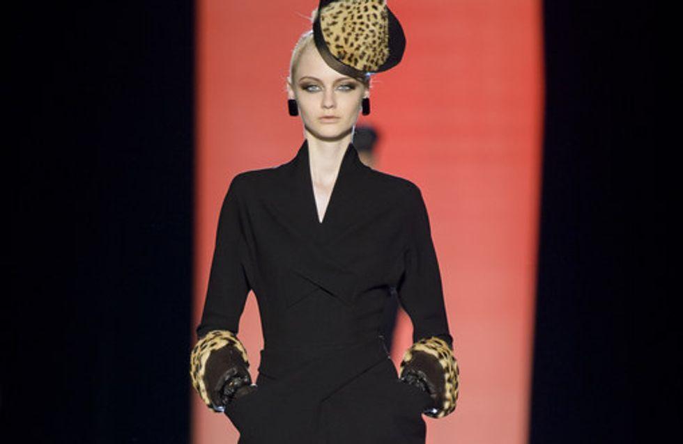 Salvaje elegancia animal de Jean Paul Gaultier en París