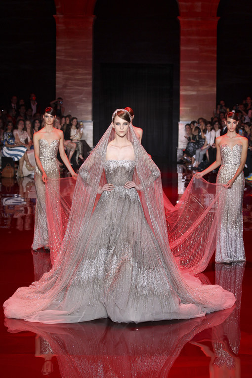 Haute Couture : bruidsjurk Elie Saab