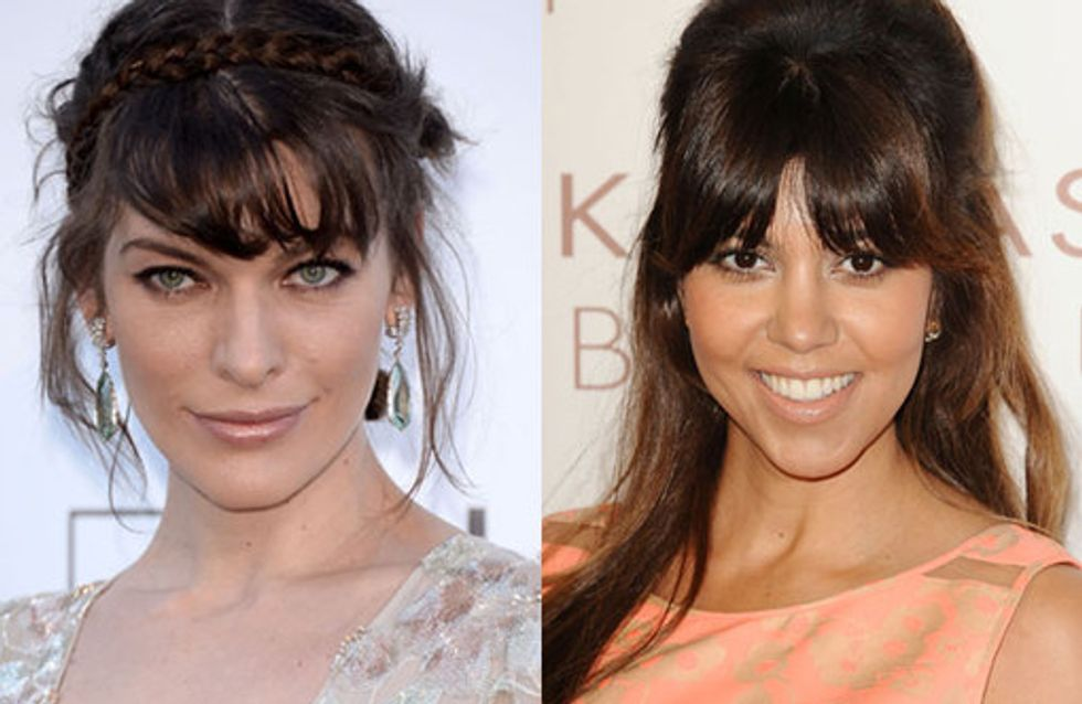 Hairstyles for long faces: A-list inspired tresses