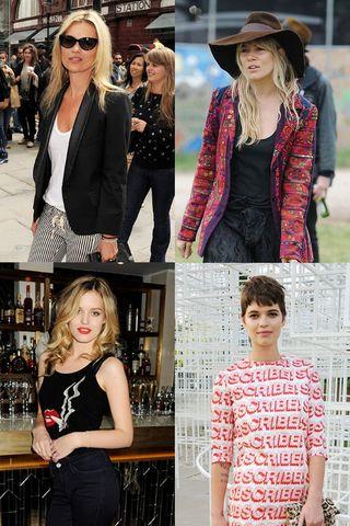 Brit girl fashion: Shabby-chic style