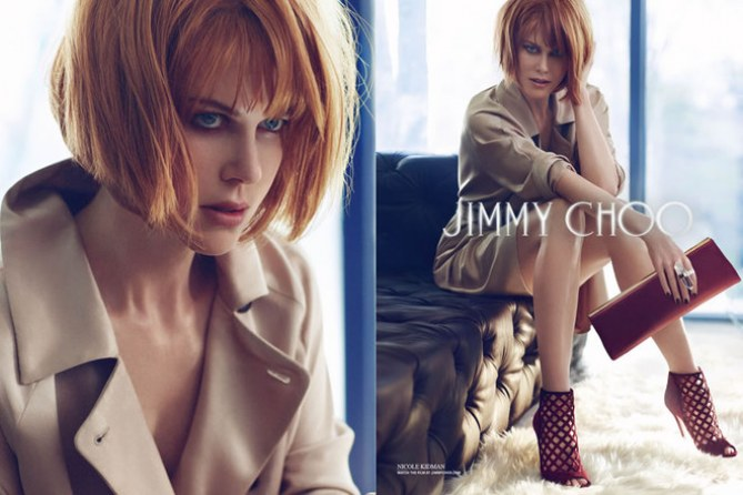 Campagne Jimmy Choo, pub automne-hiver 2013-2014