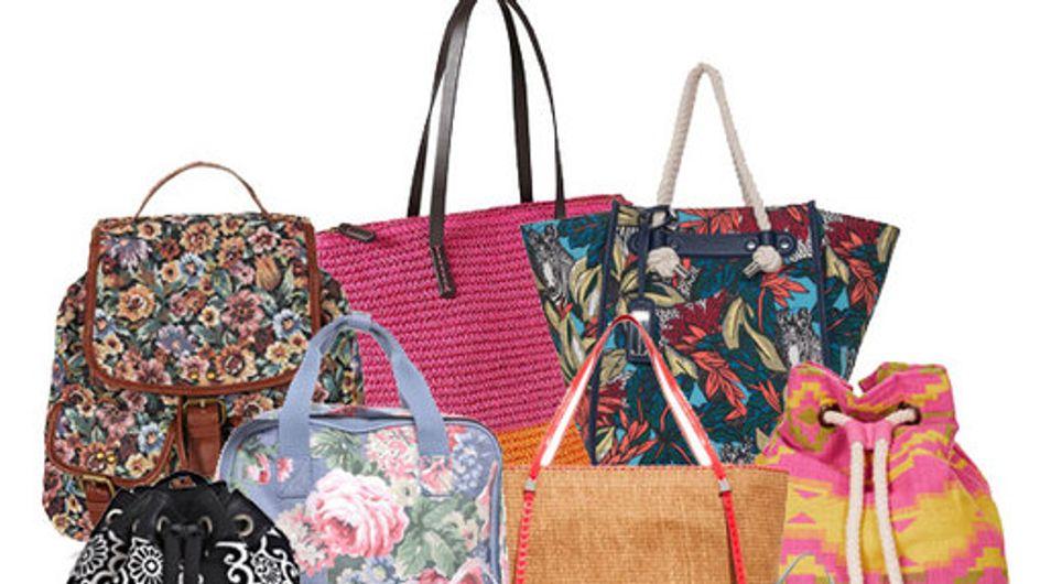 Este verano ¡todo el glamour en tu bolsa de playa!