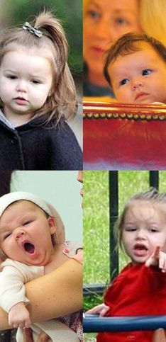 Harper Beckham Birthday: Cute baby pictures