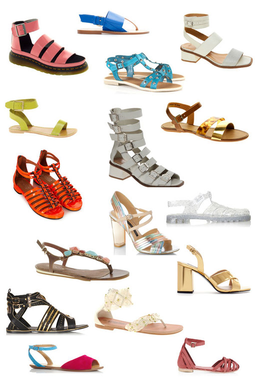 Summer sandals: 30 hot shoes
