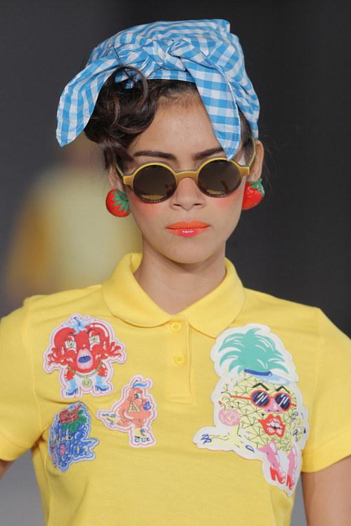 Maquillaje y peinados de la 080 Barcelona Fashion Primavera Verano 2014
