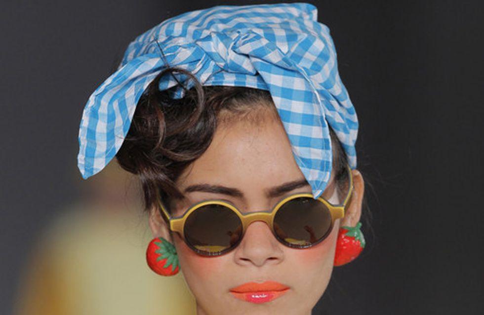 Los maquillajes y los peinados de la 080 Barcelona Fashion
