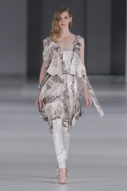 Celia Vela - 080 Barcelona Fashion Primavera Verano 2014