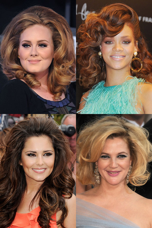 Celebrities with big hair: Bouffant hairspiration