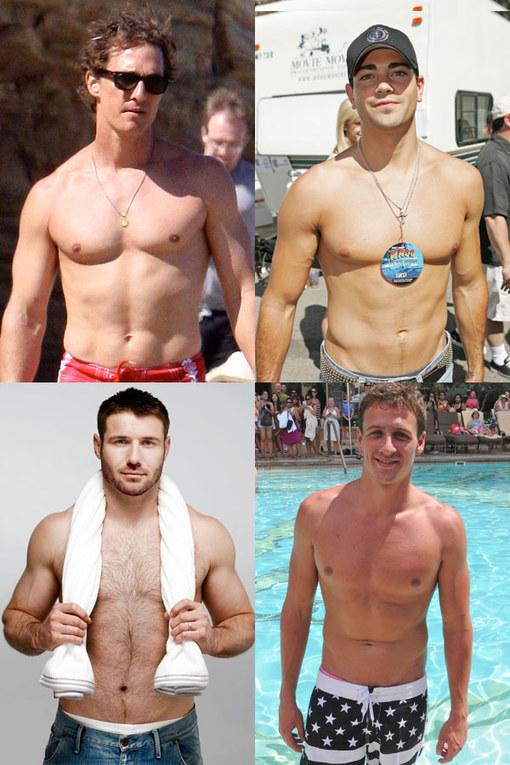 Hot celebrities: Top male torsos
