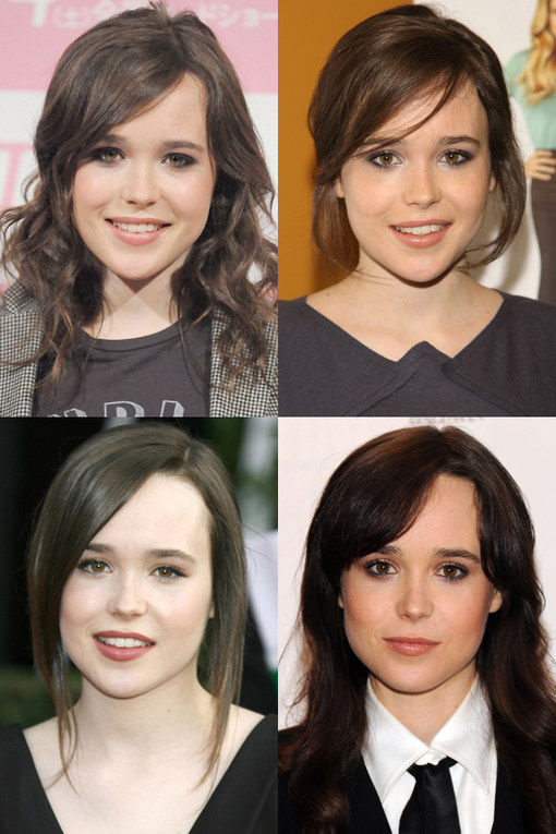 Ellen Page hair: Tomboy tresses