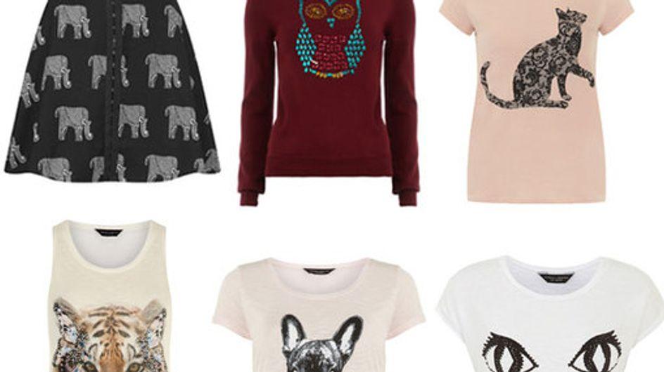 Fantasie con animali: la moda si fa selvaggia