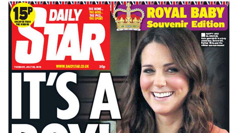 Royal baby/ Tutte le prime pagine