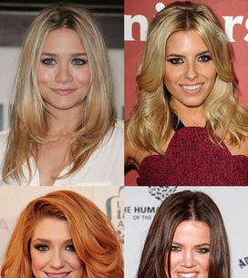 Hairstyles for layered hair: Celebrity cuts