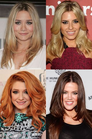 Hairstyles For Layered Hair Celebrity Cuts Photo Album Sofeminine