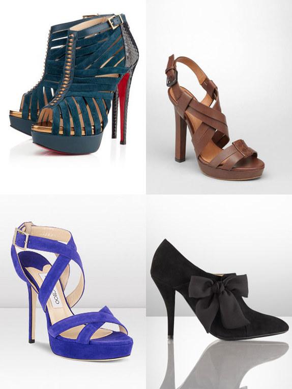 Zapatos de lujo: ¡el mundo a tus pies!
