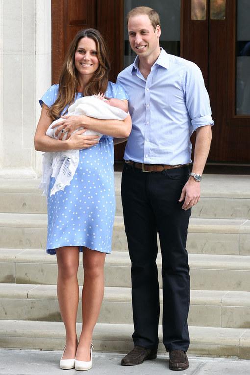 Guillermo, Catalina y su bebé: Así de mono es el pequeño príncipe