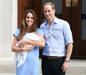 Royal baby watch: Kate and Wills present their new son - the best pictures