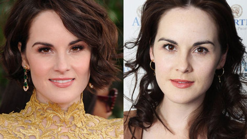 Michelle Dockery hair history