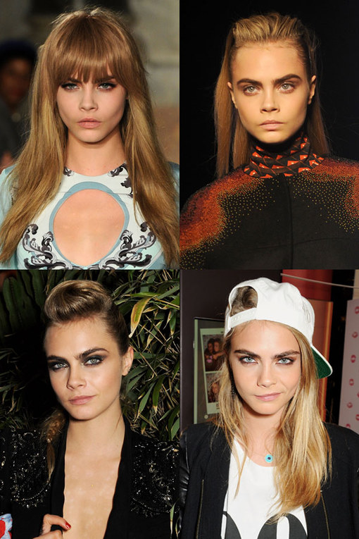 Cara Delevingne hair: Model chic locks
