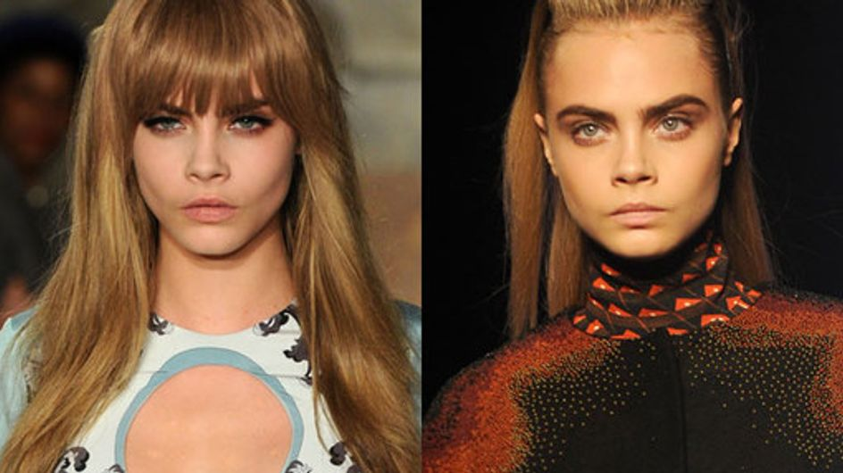 El pelo de Cara Delevigne: claves de una modelo chic