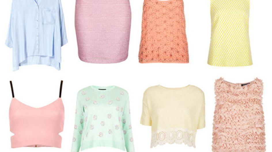 Pretty pastel fashion: Sweet sorbet style