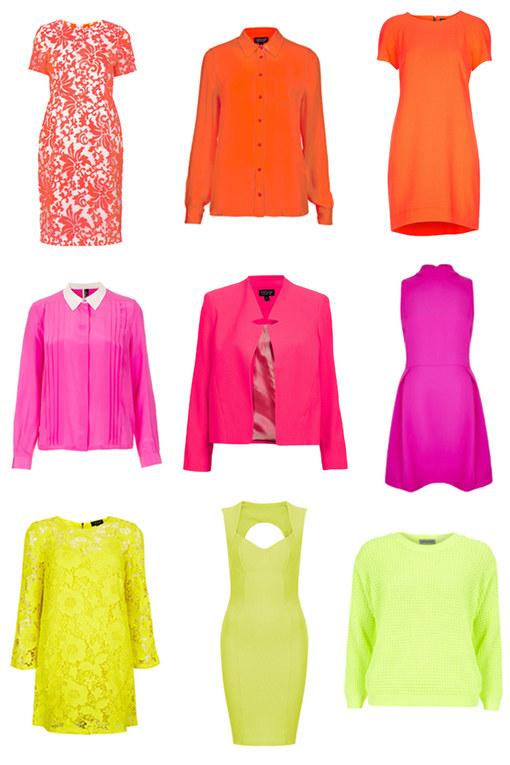 Neon brights: Fluoro fashion