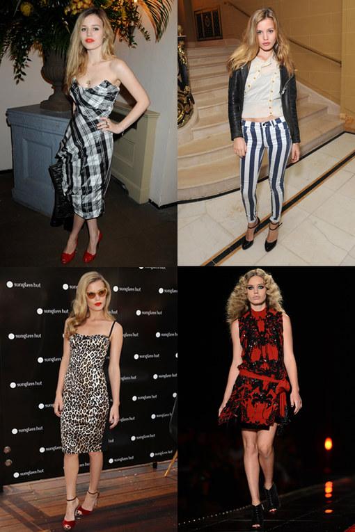 Georgia Jagger style file: Top model fashion