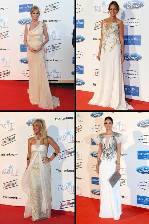 Belleza a raudales en la Gala Starlite 2013