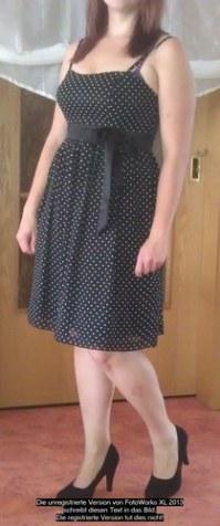 noch eine Chance UK-Shop uk billig verkaufen Schwarz-weißes Kleid als Hochzeitsgast?