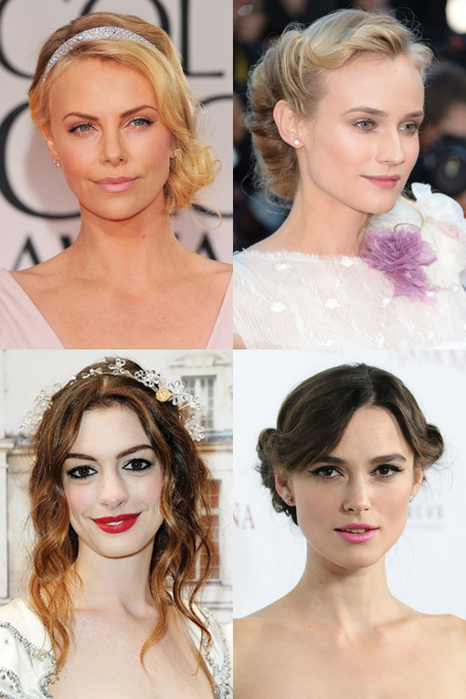 Wedding guest hairstyles: A-list looks